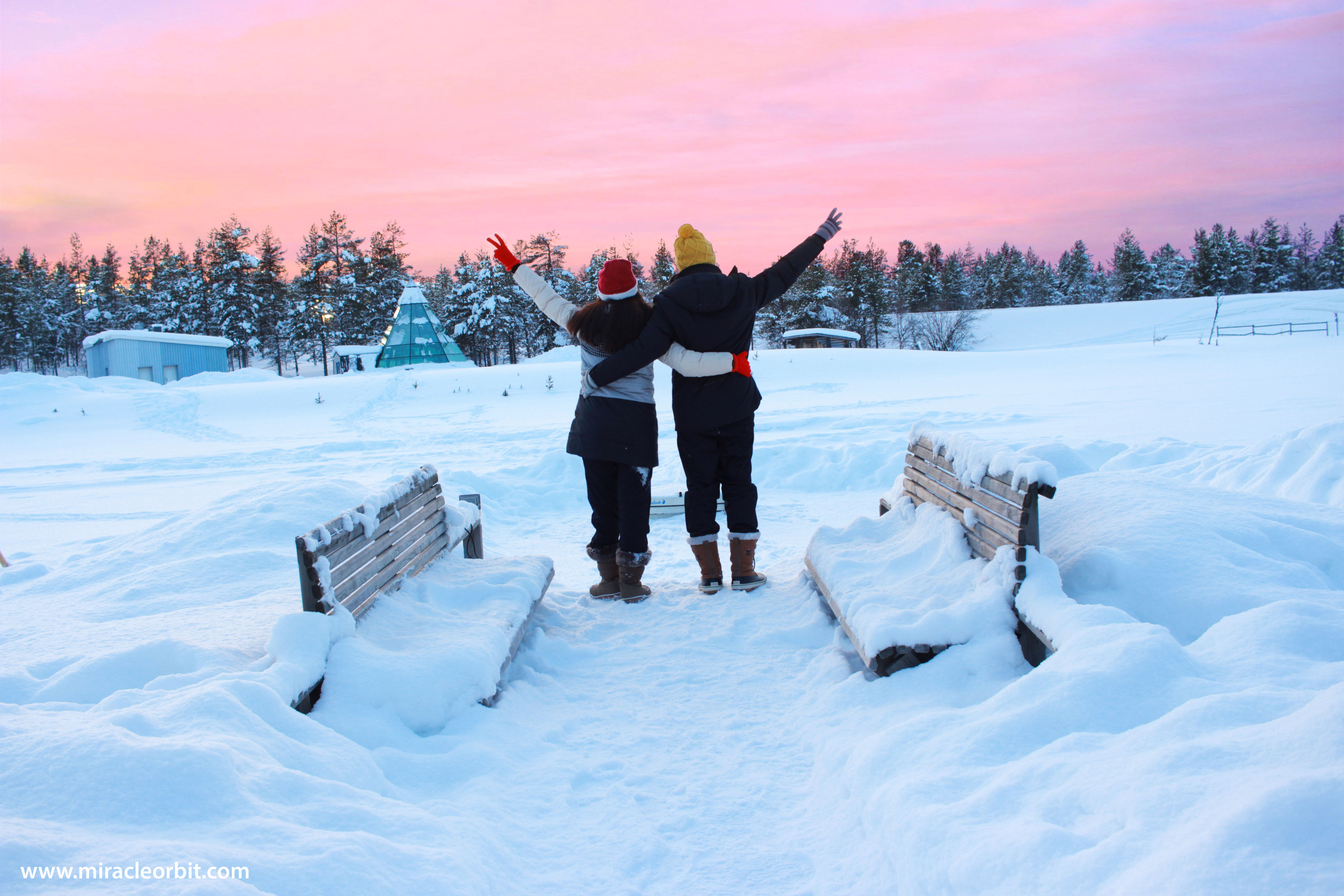 Fairy Finland. Winter Holidays in Lapland